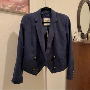 Abercrombie and Fitch Double Breasted Blazer